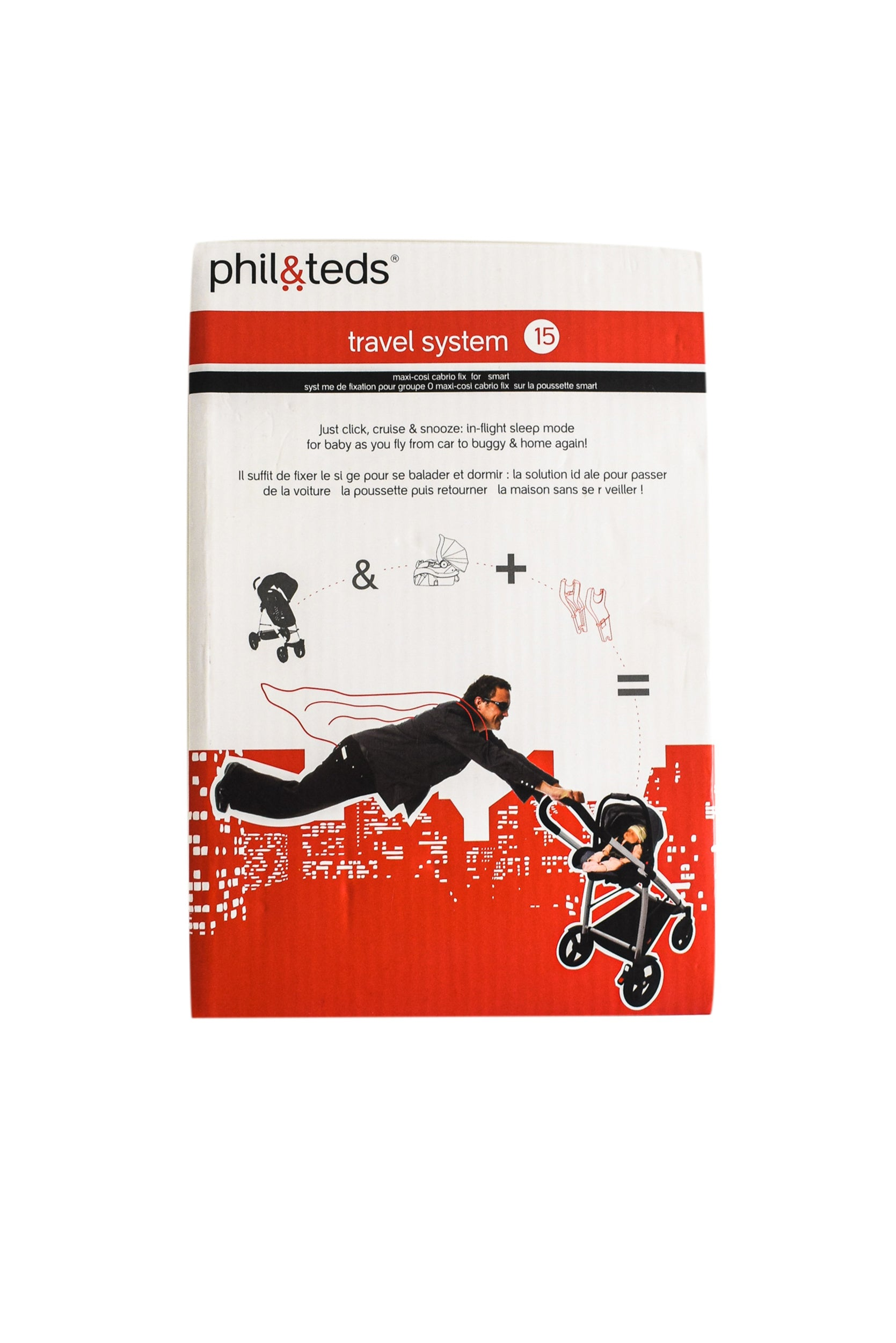 phil&teds Travel System 15 O/S