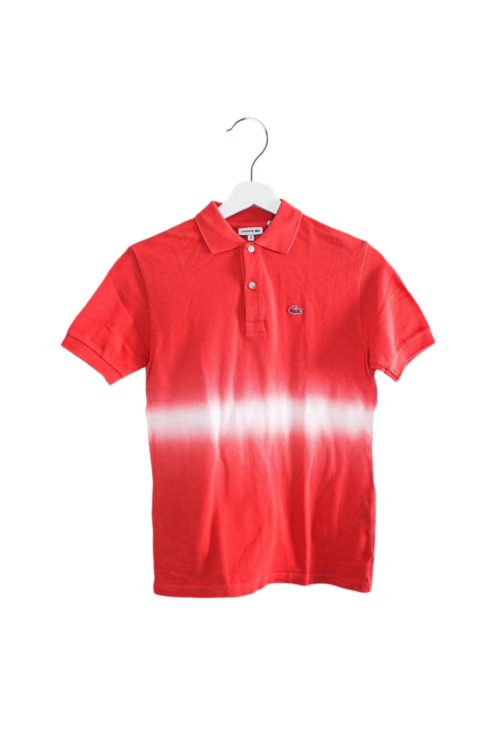 Lacoste Short Sleeve Polo 12Y