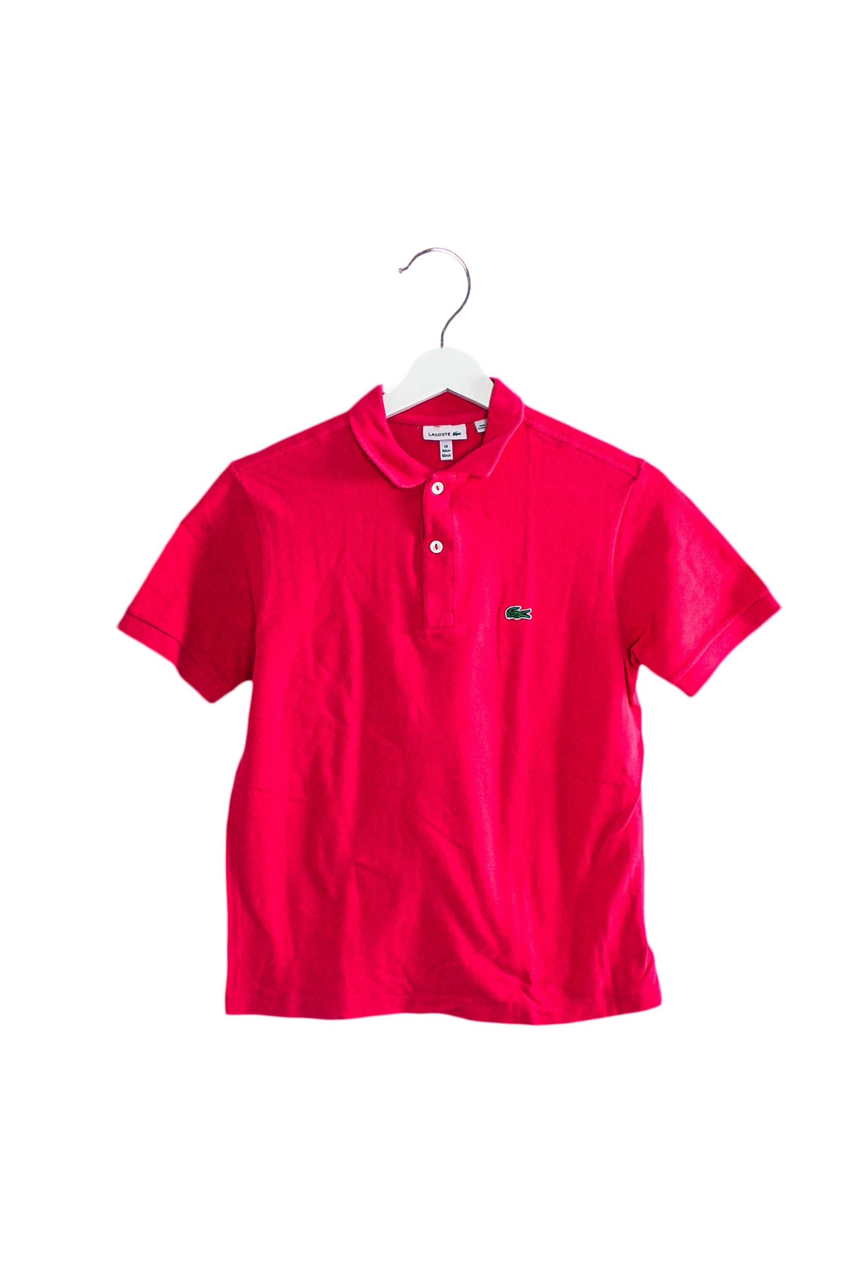 Lacoste Short Sleeve Polo 14Y