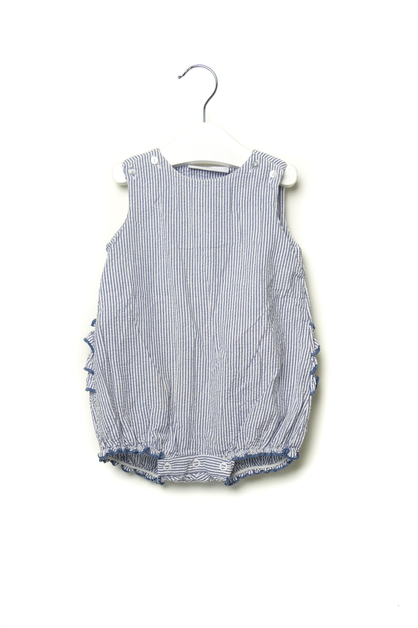10001603 The Little White Company Baby~Romper 12-18M at Retykle