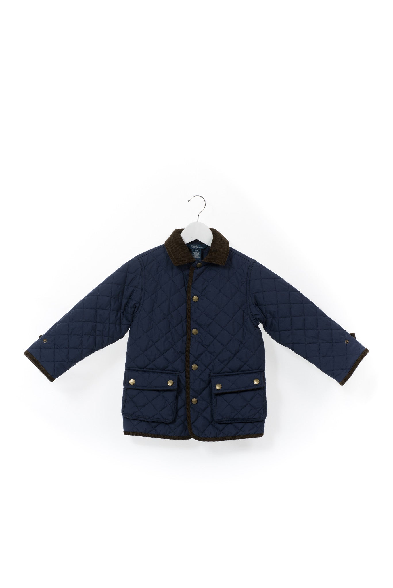 10001178 Polo Ralph Lauren Kids~Quilted Jacket 3T at Retykle