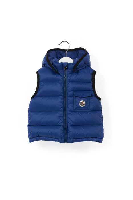 10001175 Moncler Baby~Puffer Vest 12-18M at Retykle