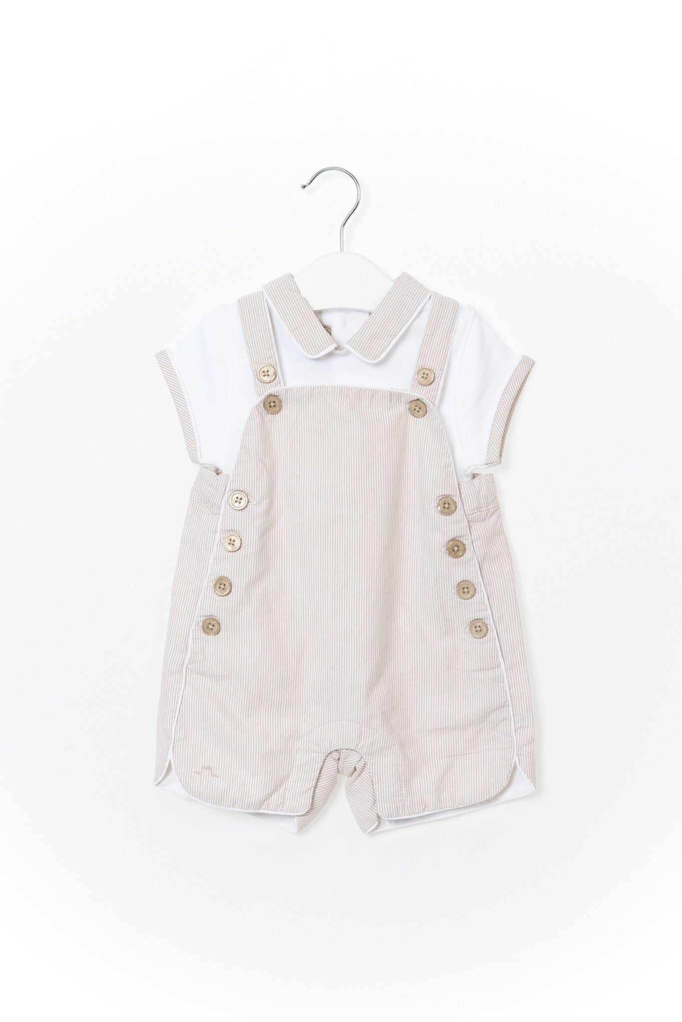 10001289 Chateau de Sable Baby~Overall Set 6M at Retykle
