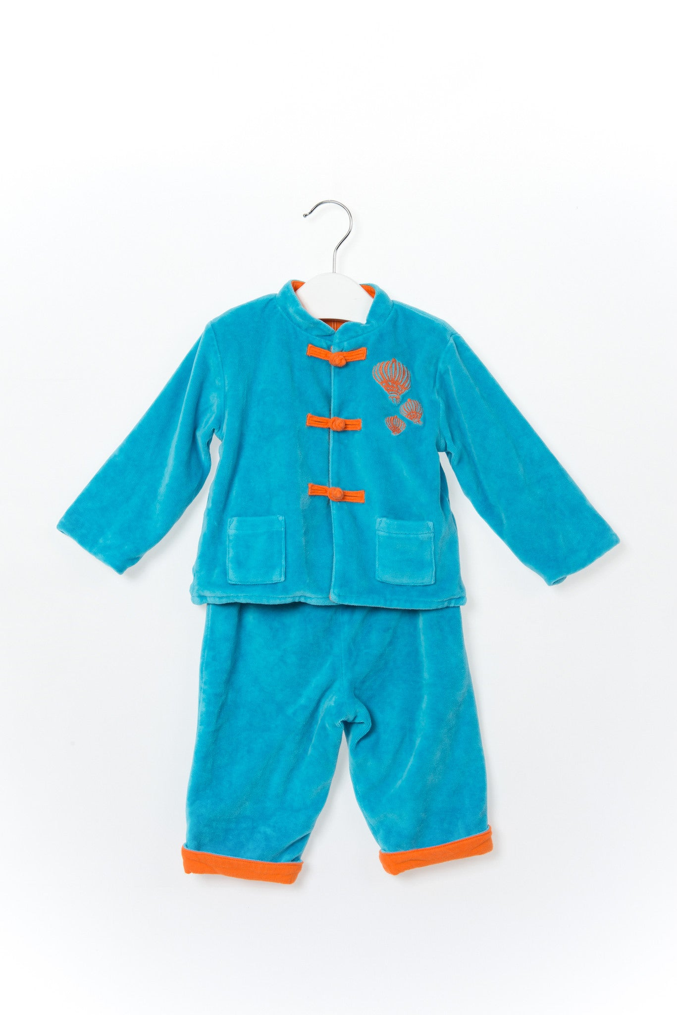 10001268 Shanghai Tang Baby~Jacket and Pants 3-6M at Retykle
