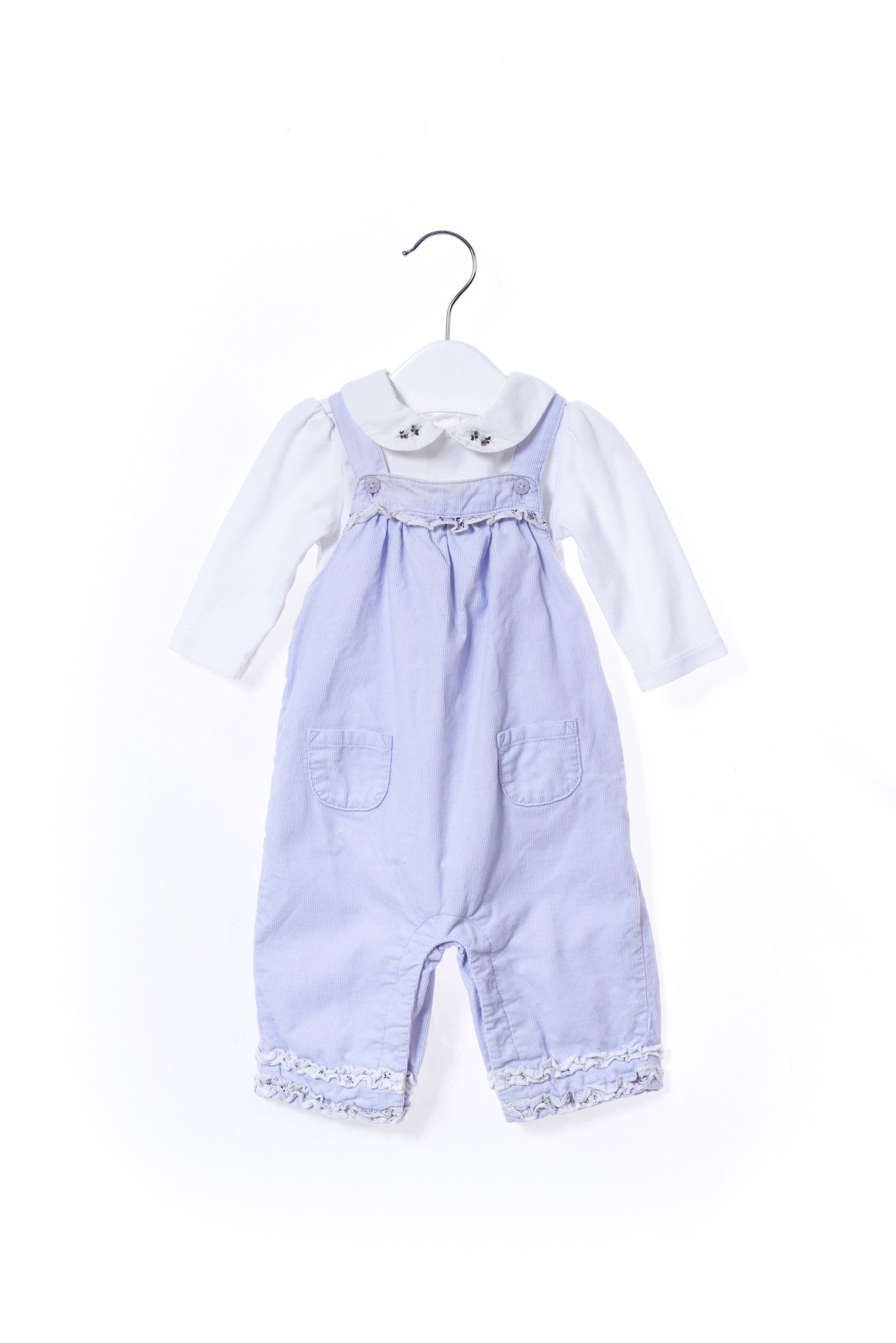 10001001 Jacadi Baby~Overall Set 0-3M at Retykle