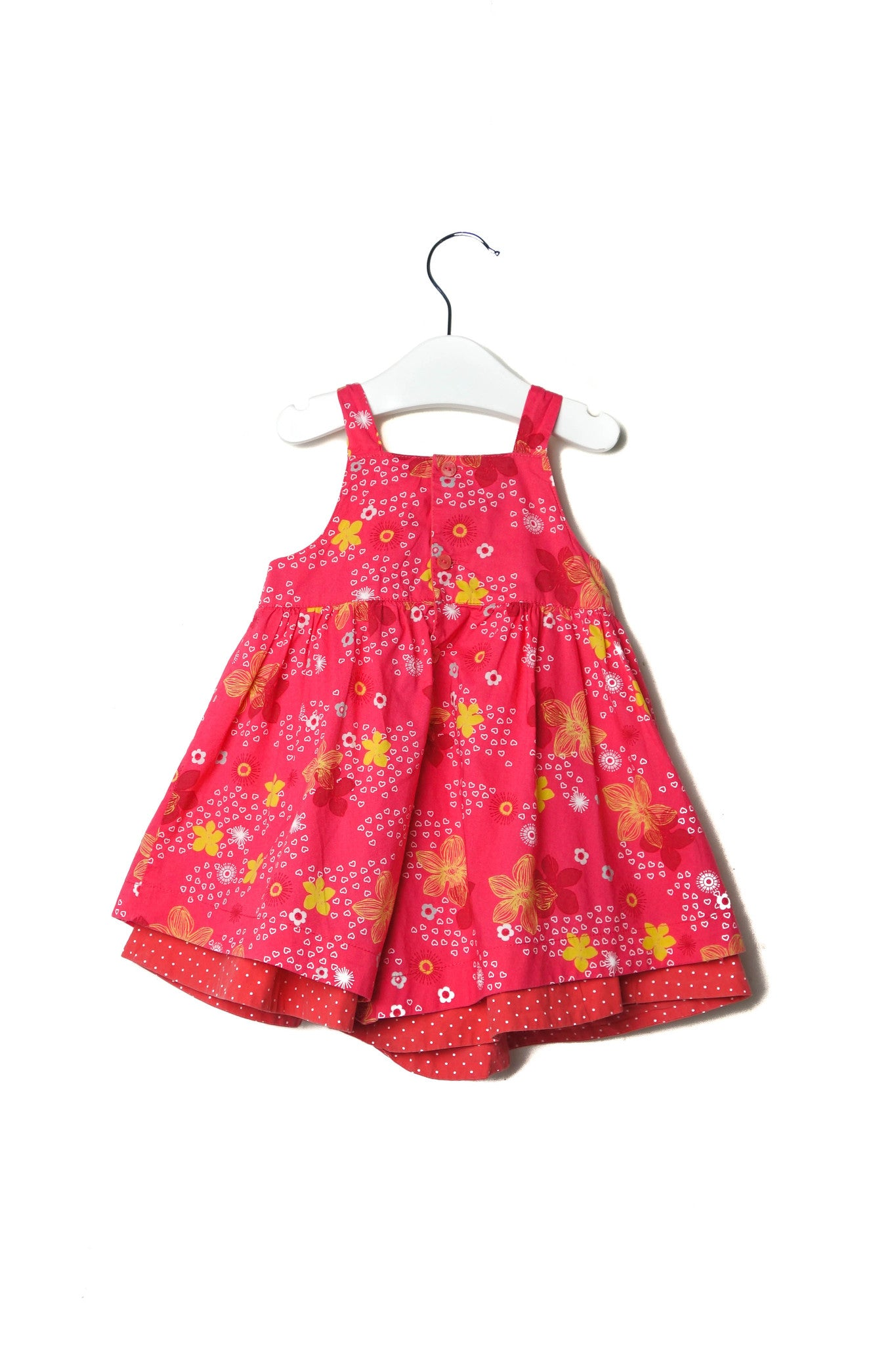 10002435 Deux par Deux Baby~Dress and Bloomer 12M at Retykle