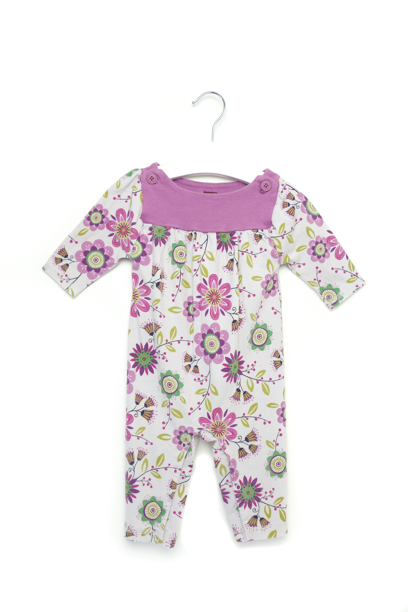 10001521 Tea Baby~Jumpsuit 3-6M at Retykle