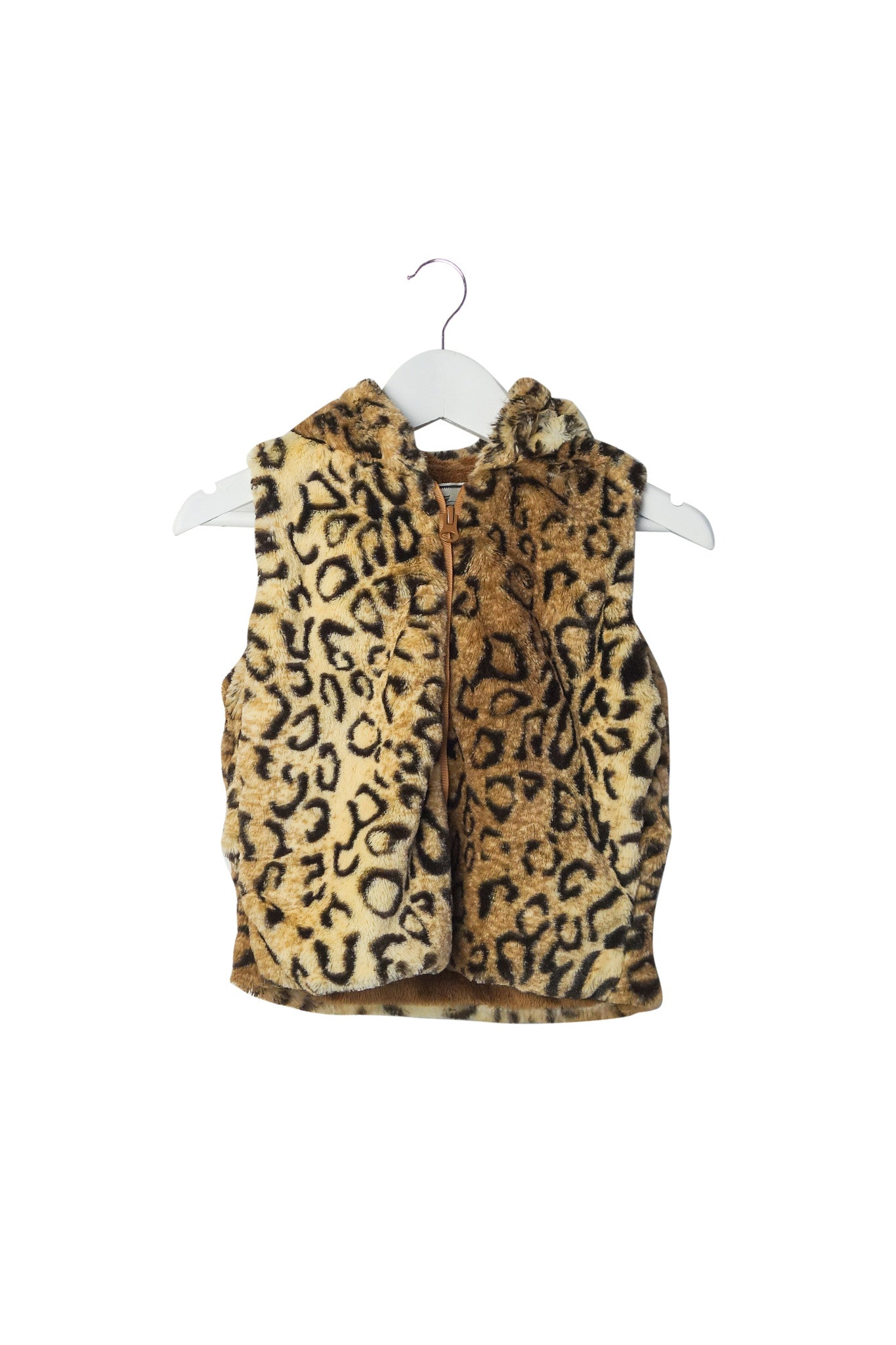 10003048 American Widgeon Kids~Fur Vest 3T at Retykle