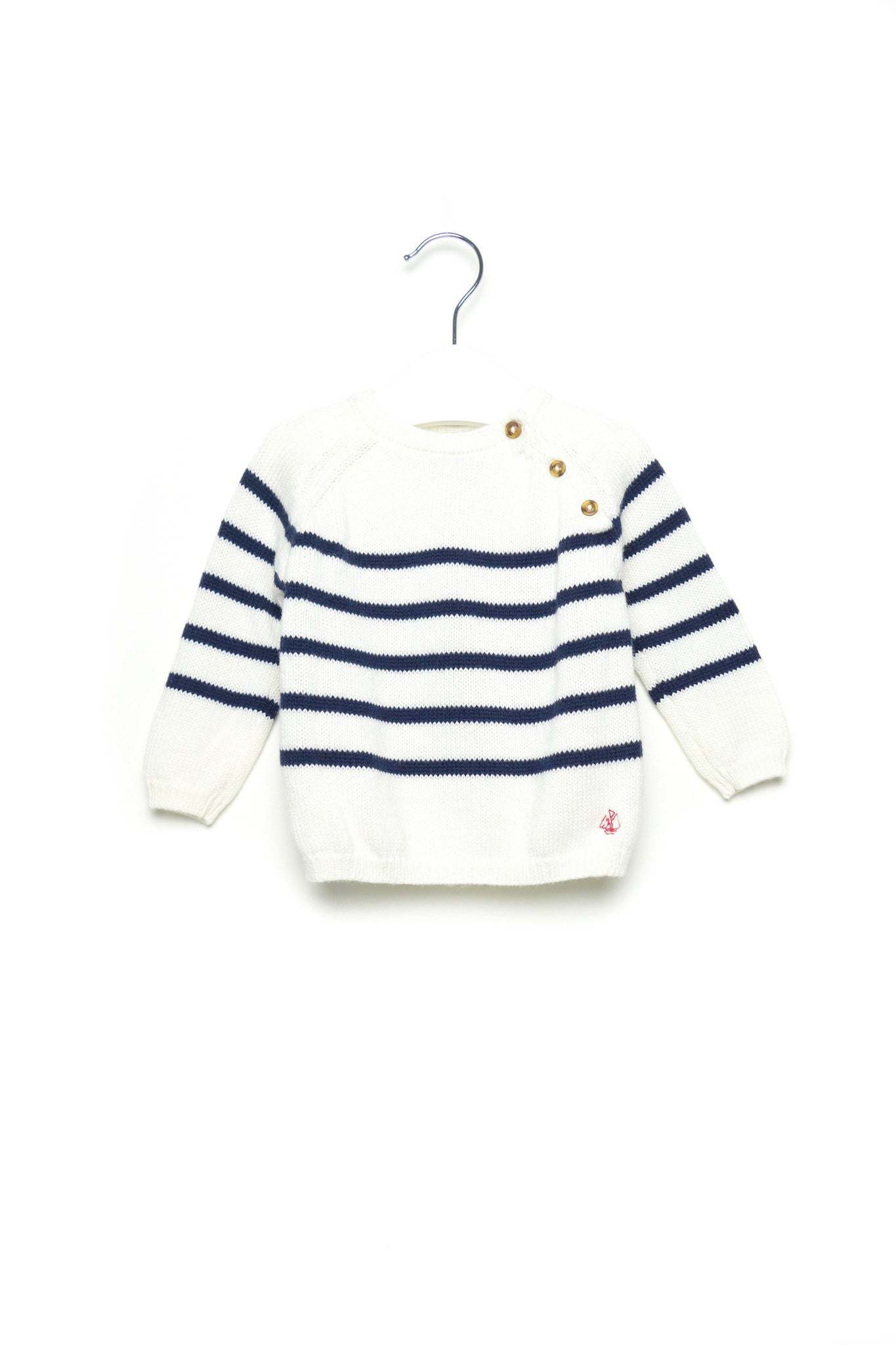 10001471 Petit Bateau Baby~Sweater 6M at Retykle