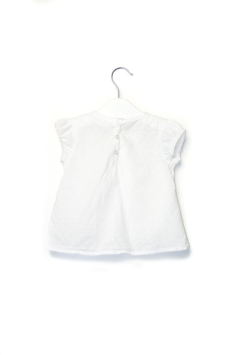10001620 The Little White Company Baby~Top 6-9M at Retykle