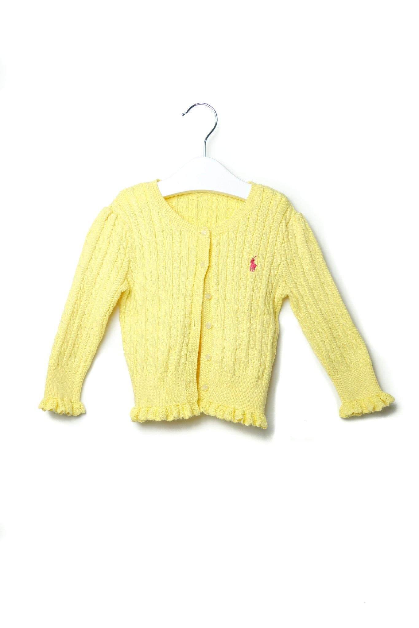 10001646 Ralph Lauren Baby~Cardigan 12M at Retykle