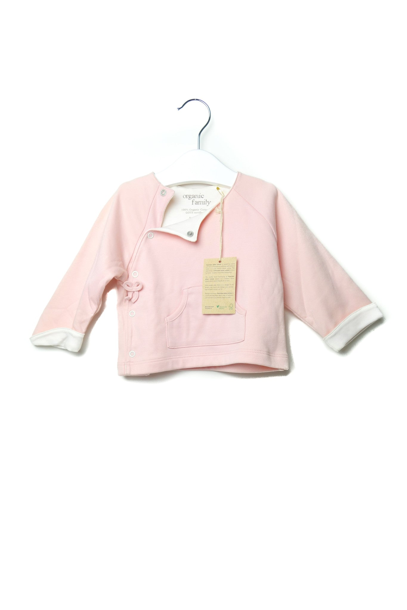 10001651 Organic Family Baby~Sweatshirt 9-12M at Retykle