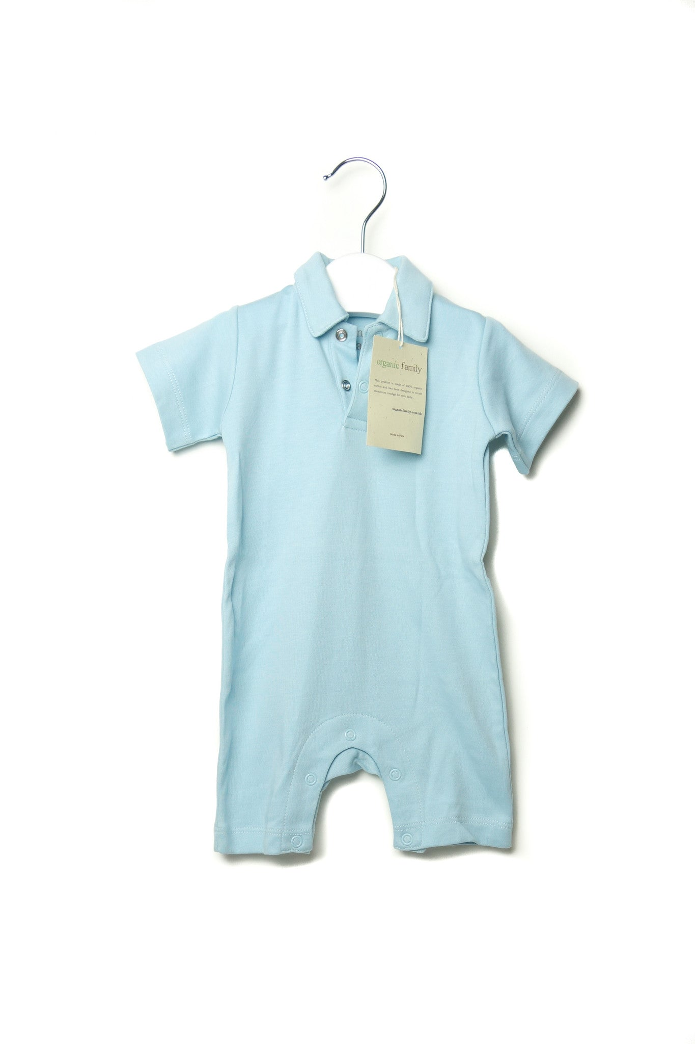 10001652 Organic Family Baby~Romper 0-3M at Retykle