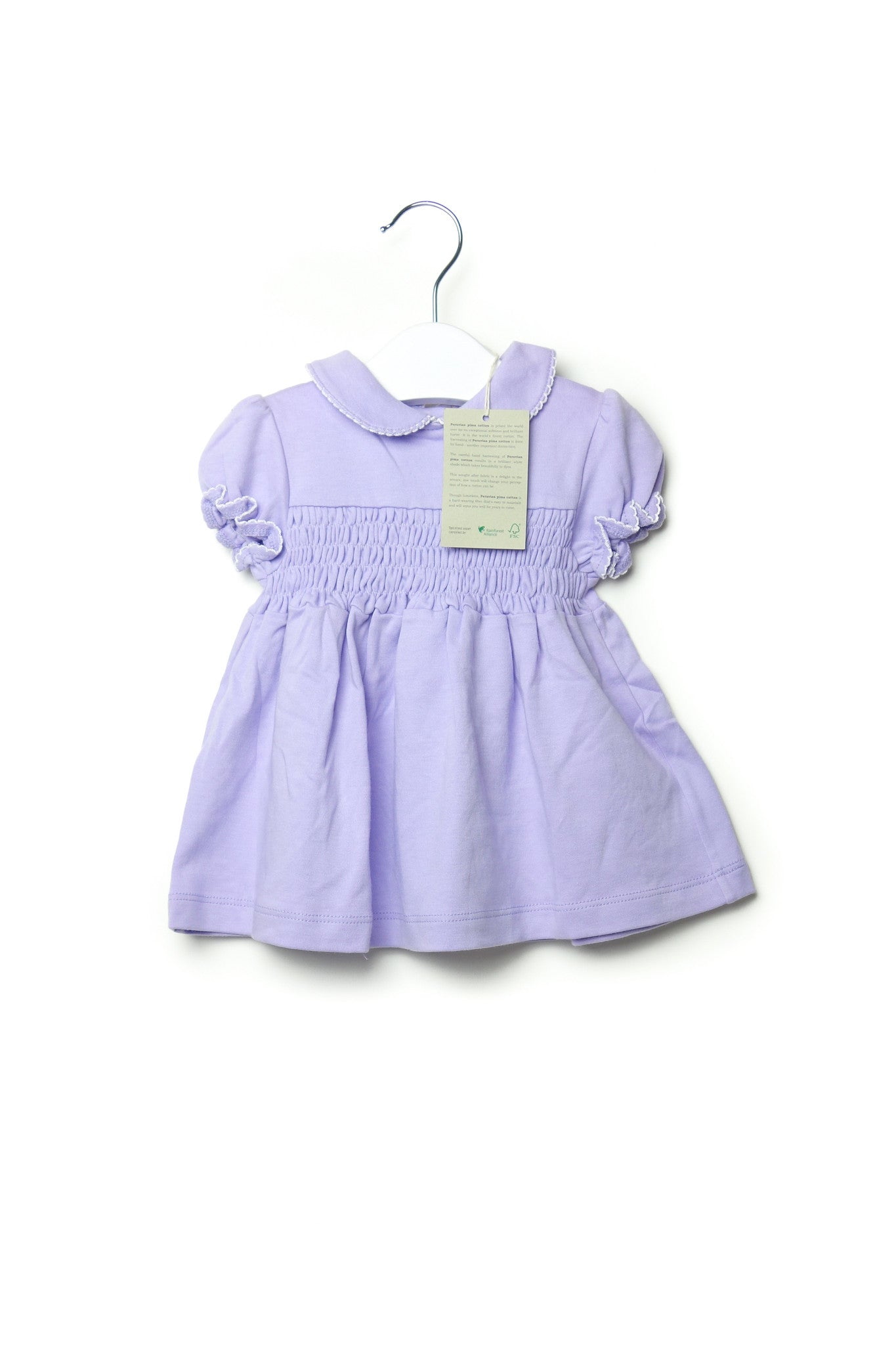 10001675 Organic Family Baby~Dress 0-3M at Retykle