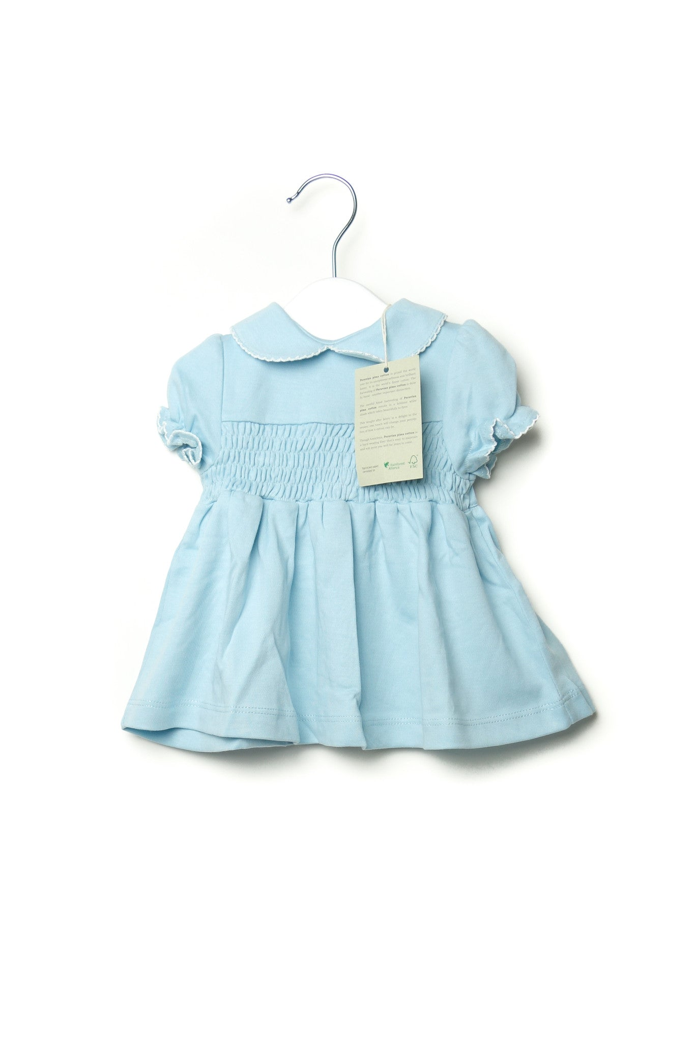 10001680 Organic Family Baby~Dress 3-6M at Retykle