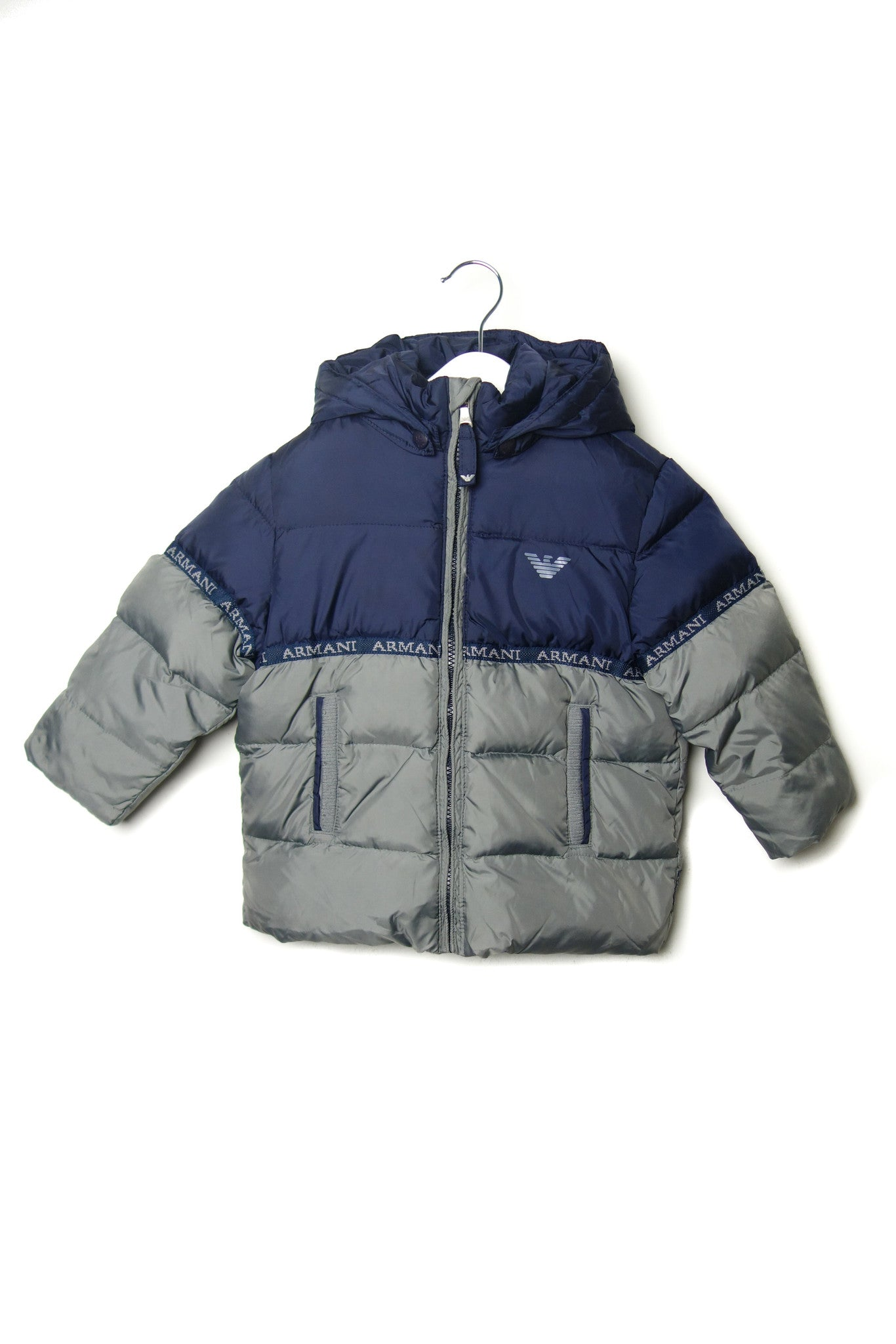 10001854BB Armani Kids~Puffer Jacket 2T at Retykle