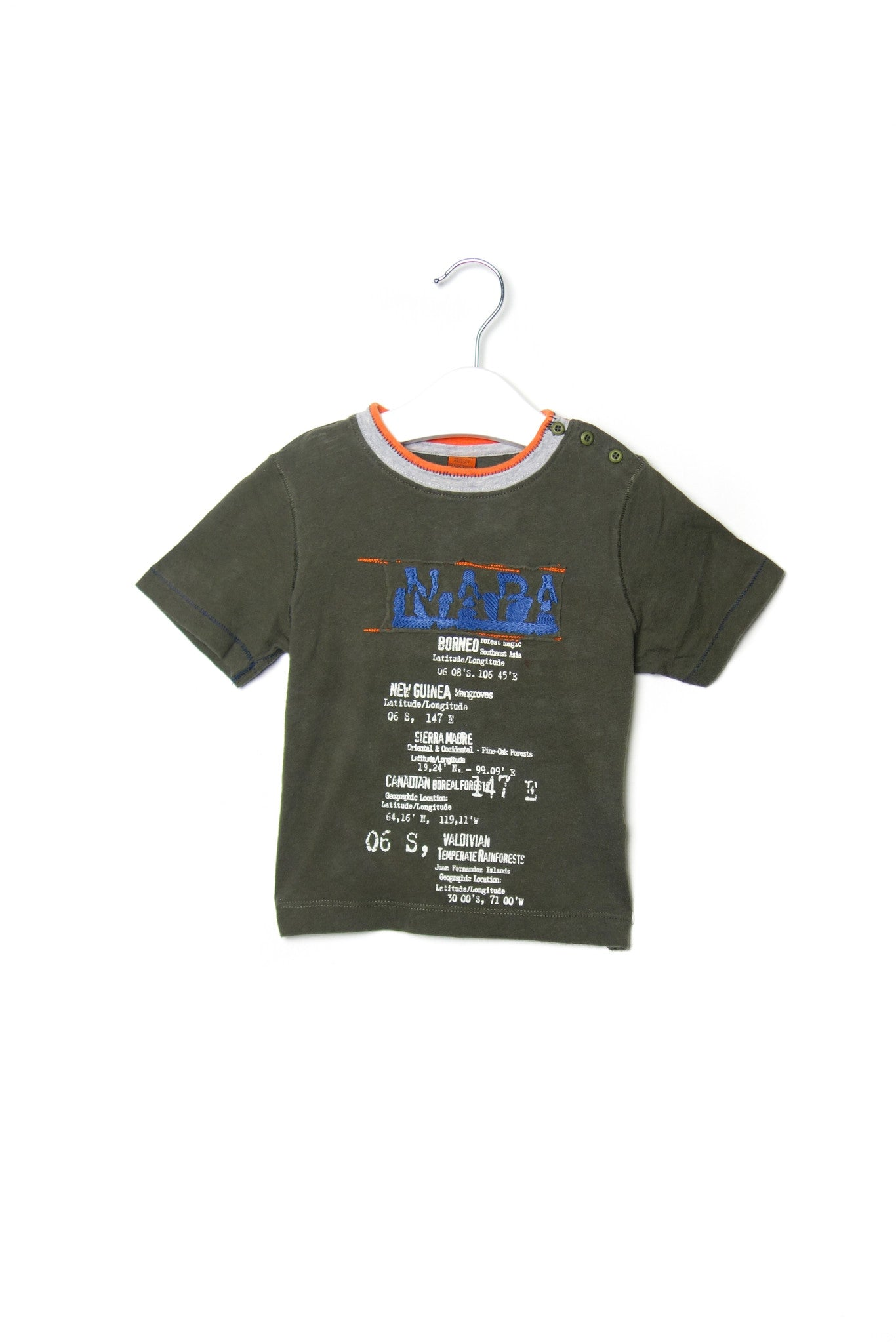 10001860 Napapijri Kids~T-Shirt 2T at Retykle