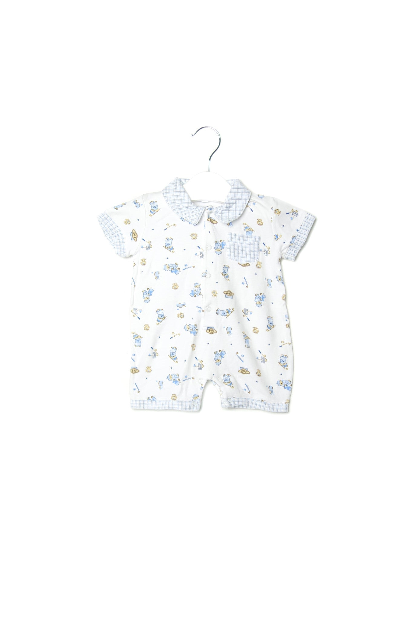 10001893 Kissy Kissy Baby~Romper 3-6M at Retykle