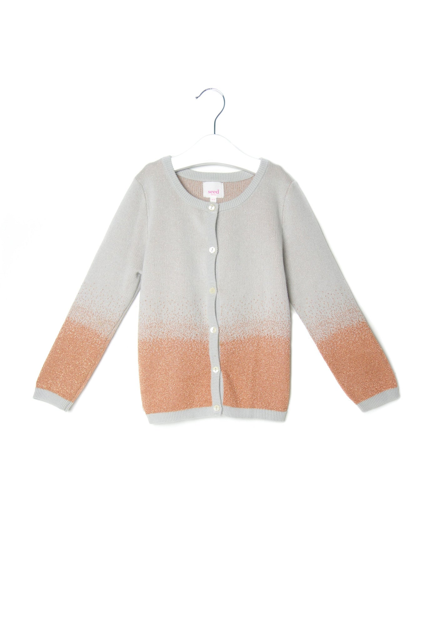 10001911 Seed Kids~Cardigan 4-5T at Retykle