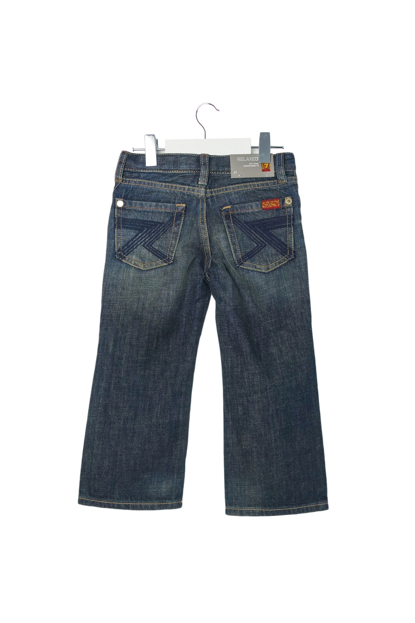 10003209 7 For All Mankind Kids~Jeans 2T at Retykle