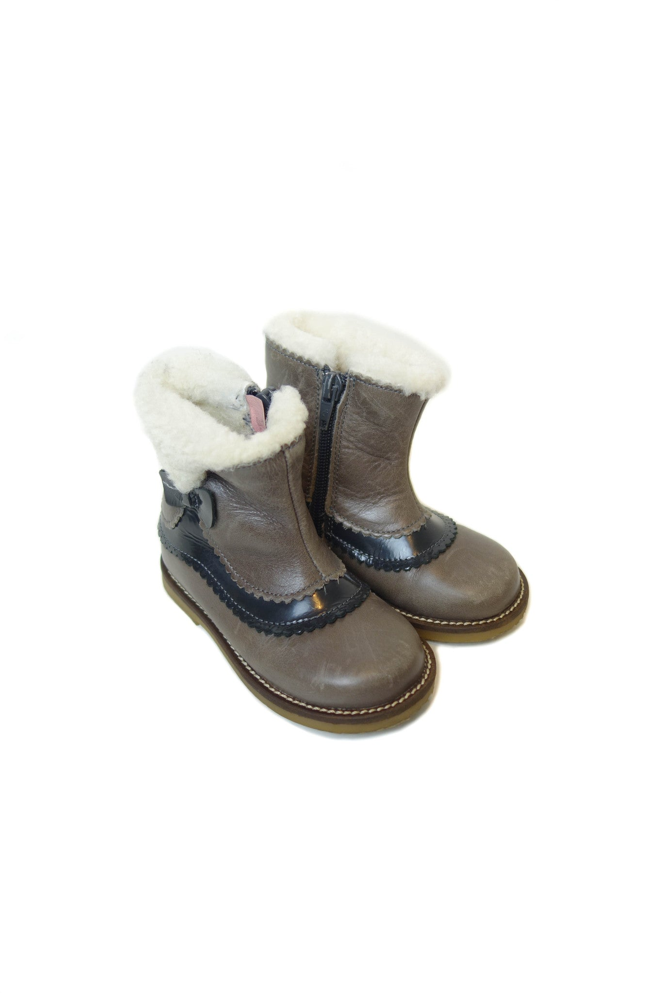 10002015 Jacadi Baby~Boots 18-24M (EU 23) at Retykle