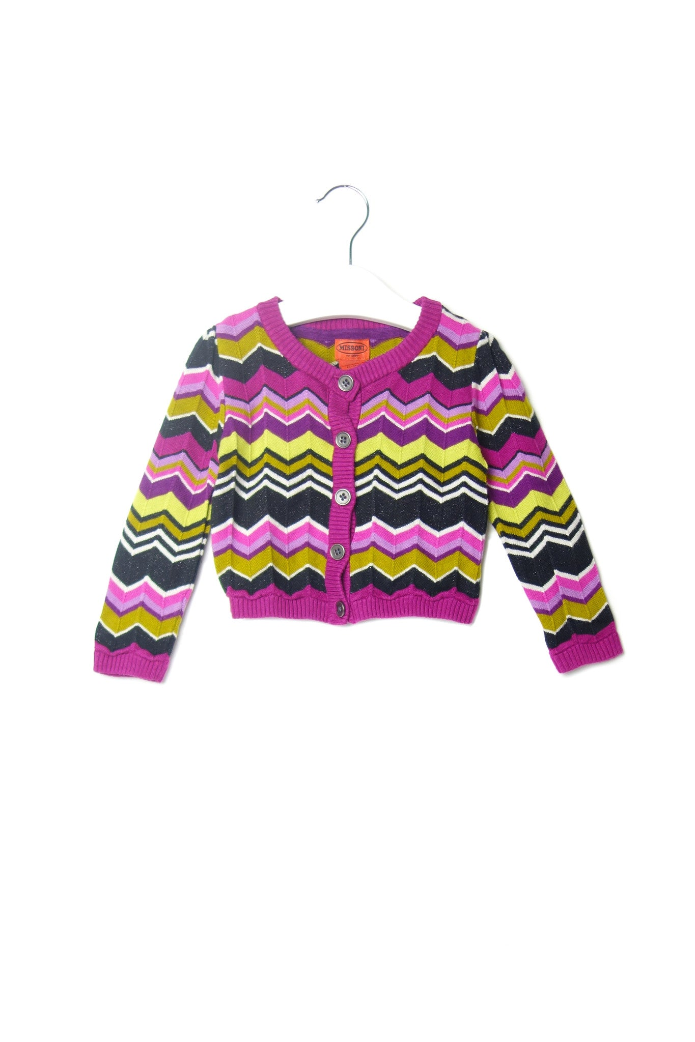 10001996 Missoni Kids~Cardigan 2-3T at Retykle