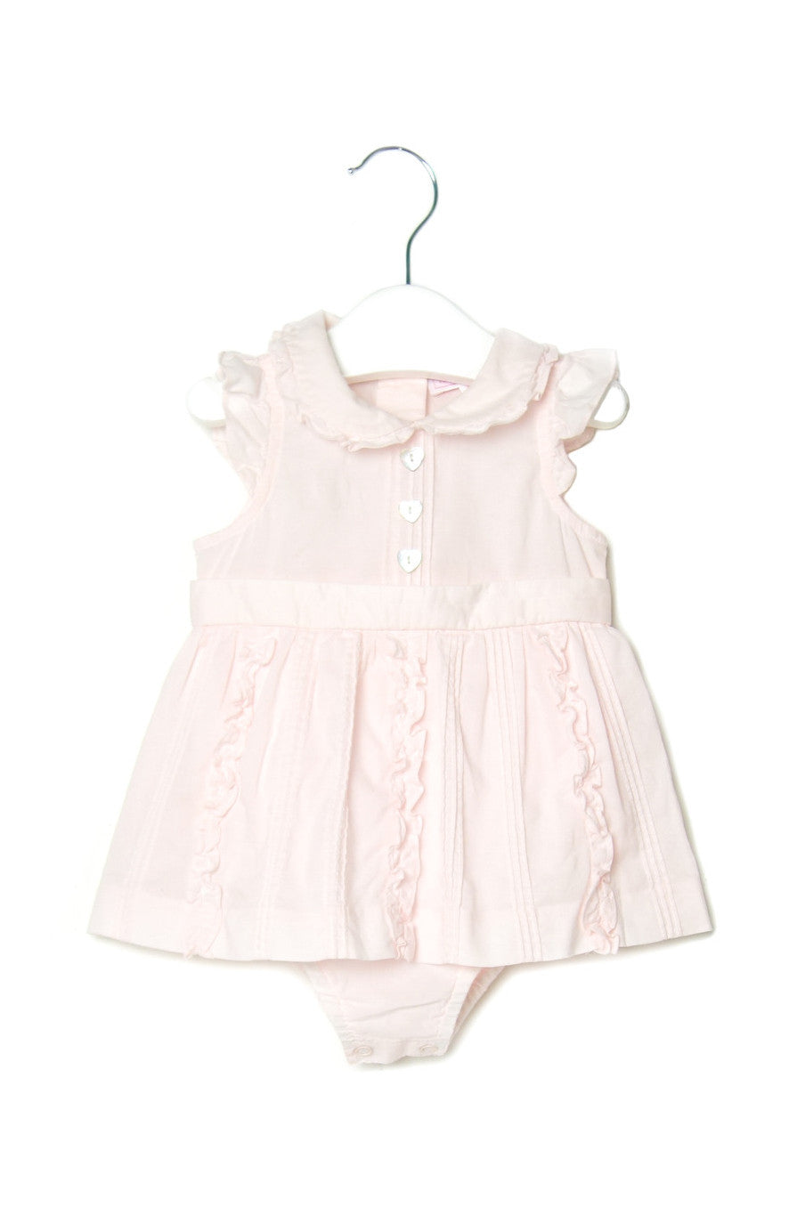 10001951 Nicholas & Bears Baby~Romper Dress 6M at Retykle