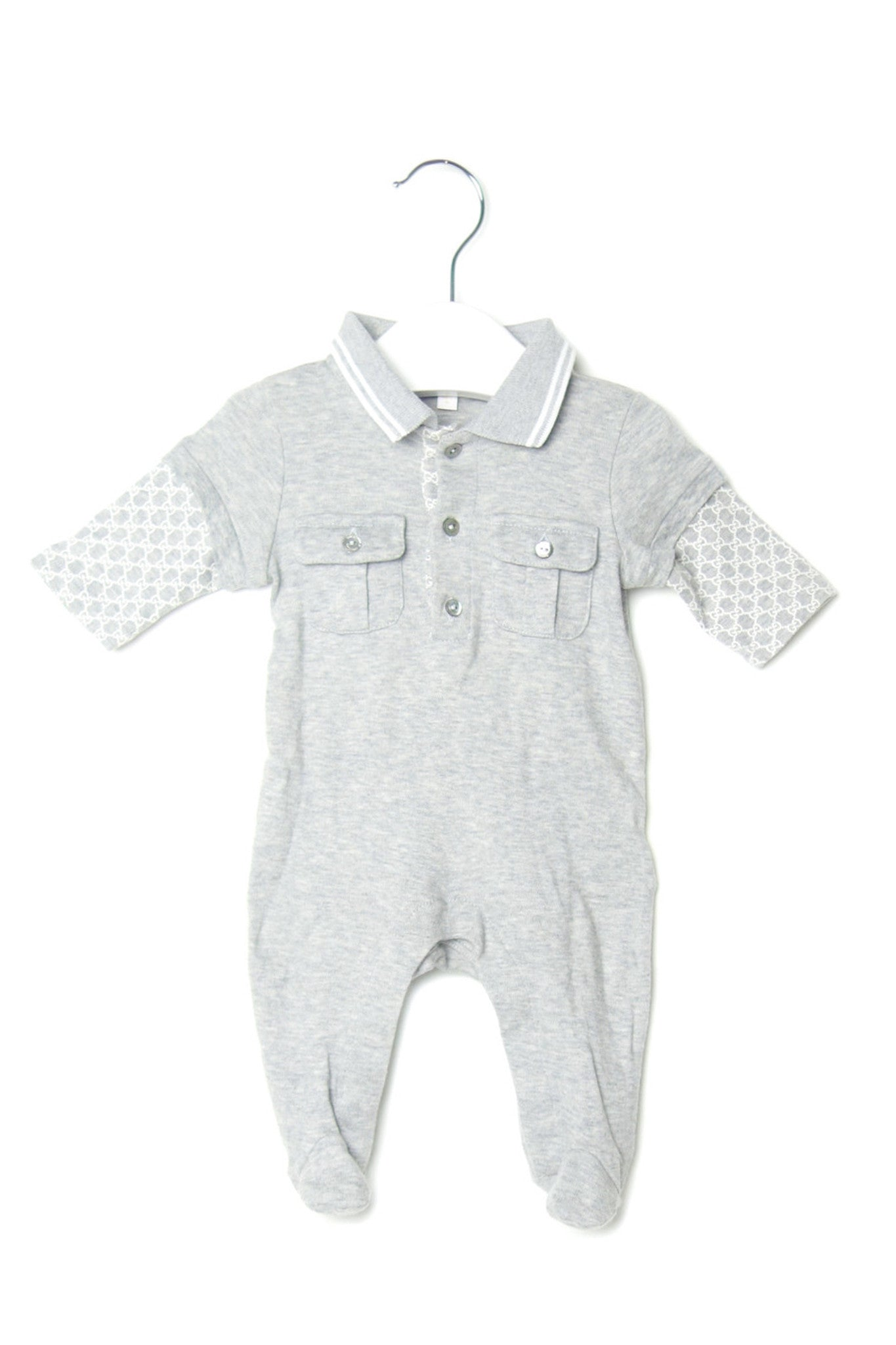10001995 Gucci Baby~Jumpsuit 0-3M at Retykle