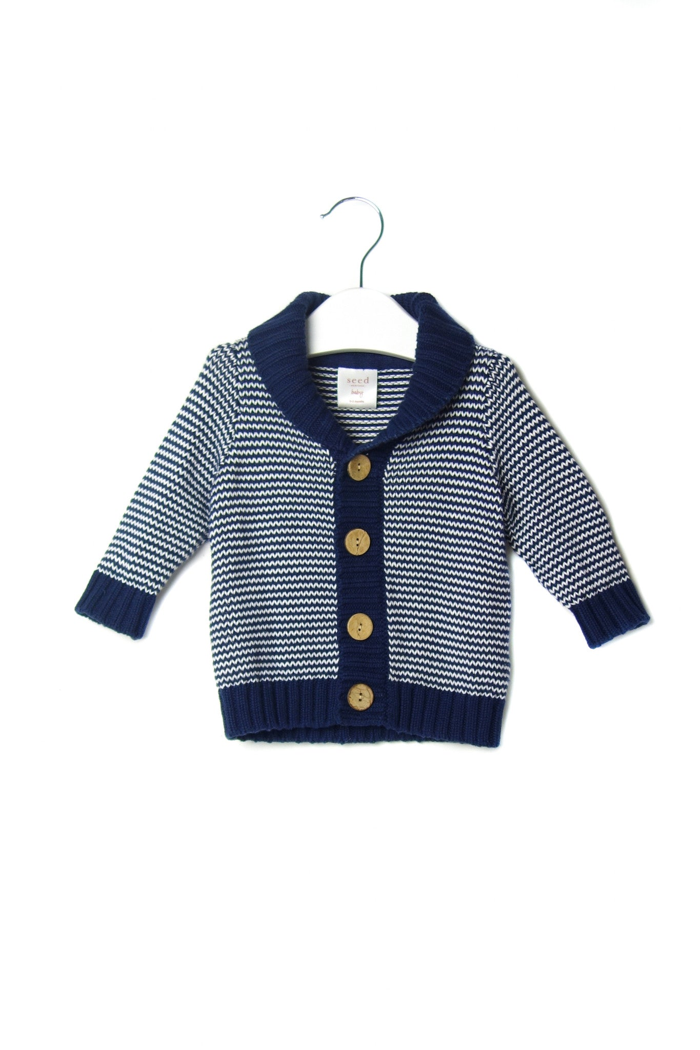 10002016 Seed Baby~Cardigan 0-3M at Retykle