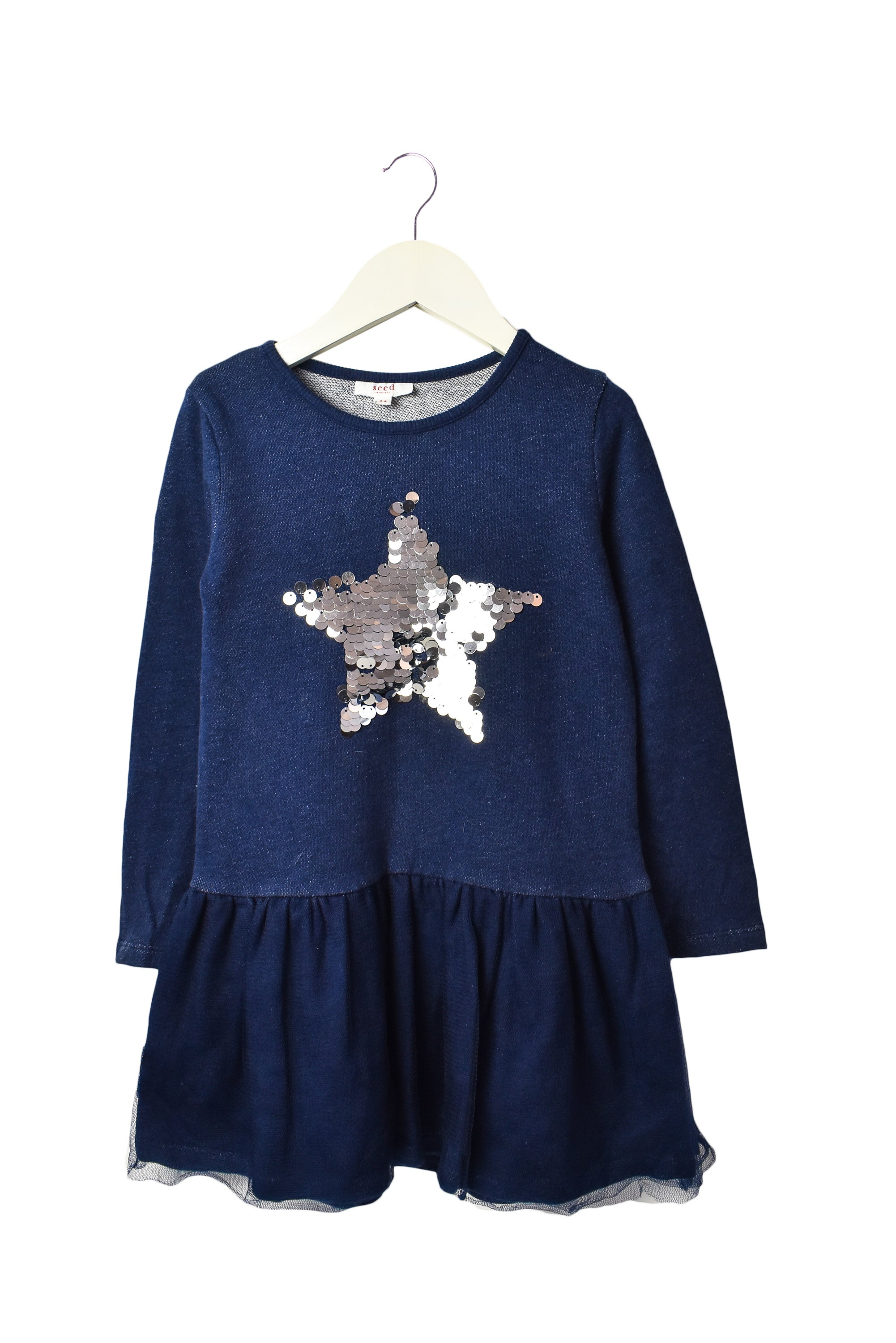 10006557 Seed Kids~Dress 3-4T at Retykle
