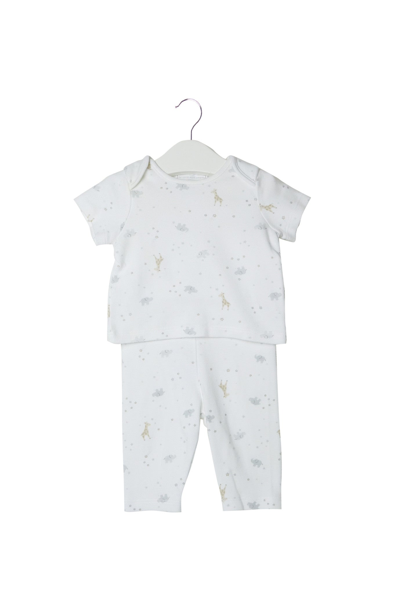 10002767 The Little White Company Baby~Pyjamas 0-3M at Retykle