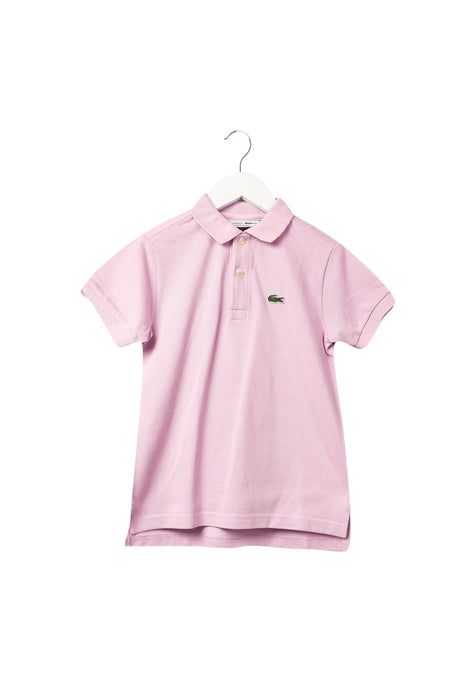 10043829 Lacoste Kids~Short Sleeve Polo 6T at Retykle