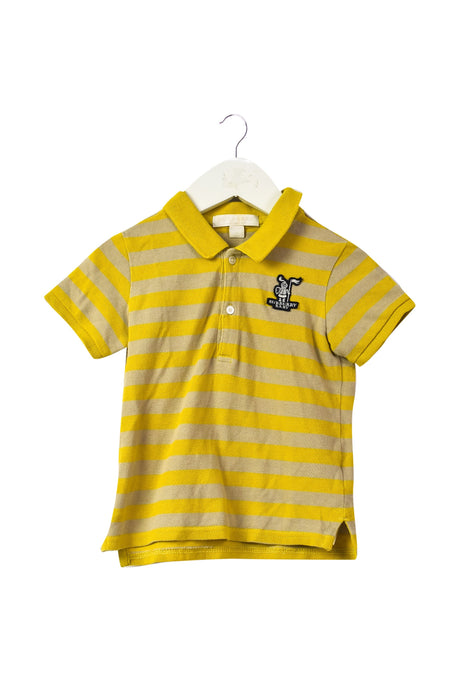 10042680 Burberry Kids~Short Sleeve Polo 2T at Retykle