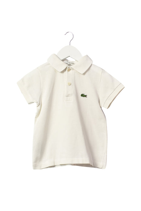 10042956 Lacoste Kids~Short Sleeve Polo 2T at Retykle