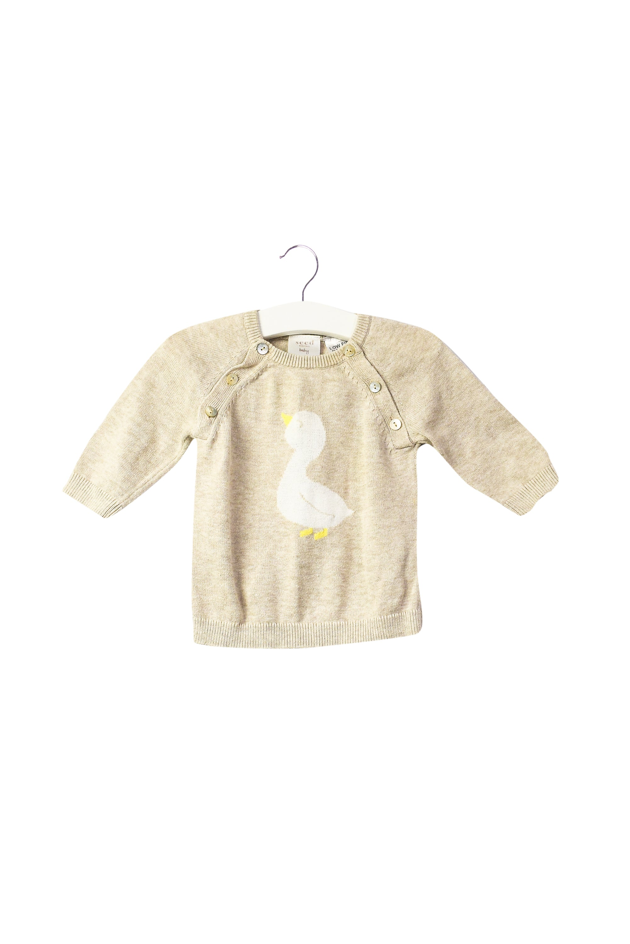 10043933 Seed Baby~Knit Sweater 0-3M at Retykle