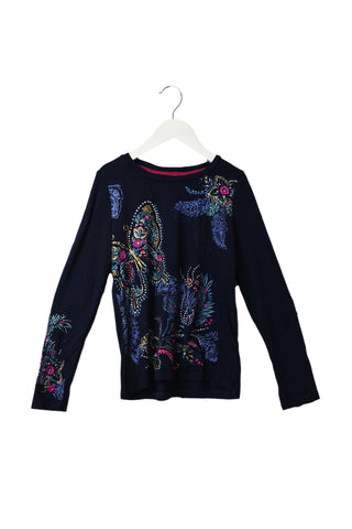 10044423 Monsoon Kids~Long Sleeve Top 7-8 at Retykle