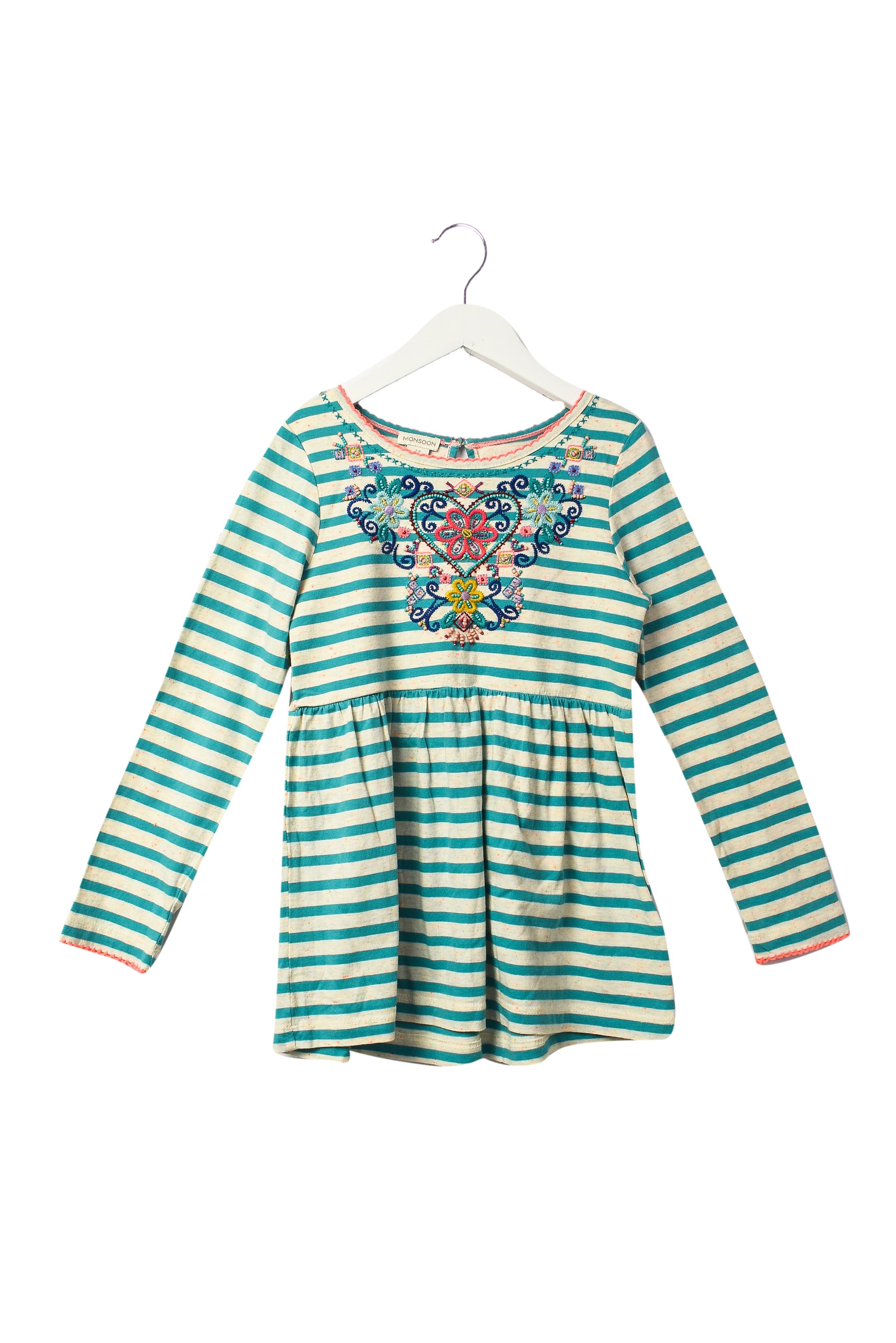 10044424 Monsoon Kids~Long Sleeve Top 7-8 at Retykle