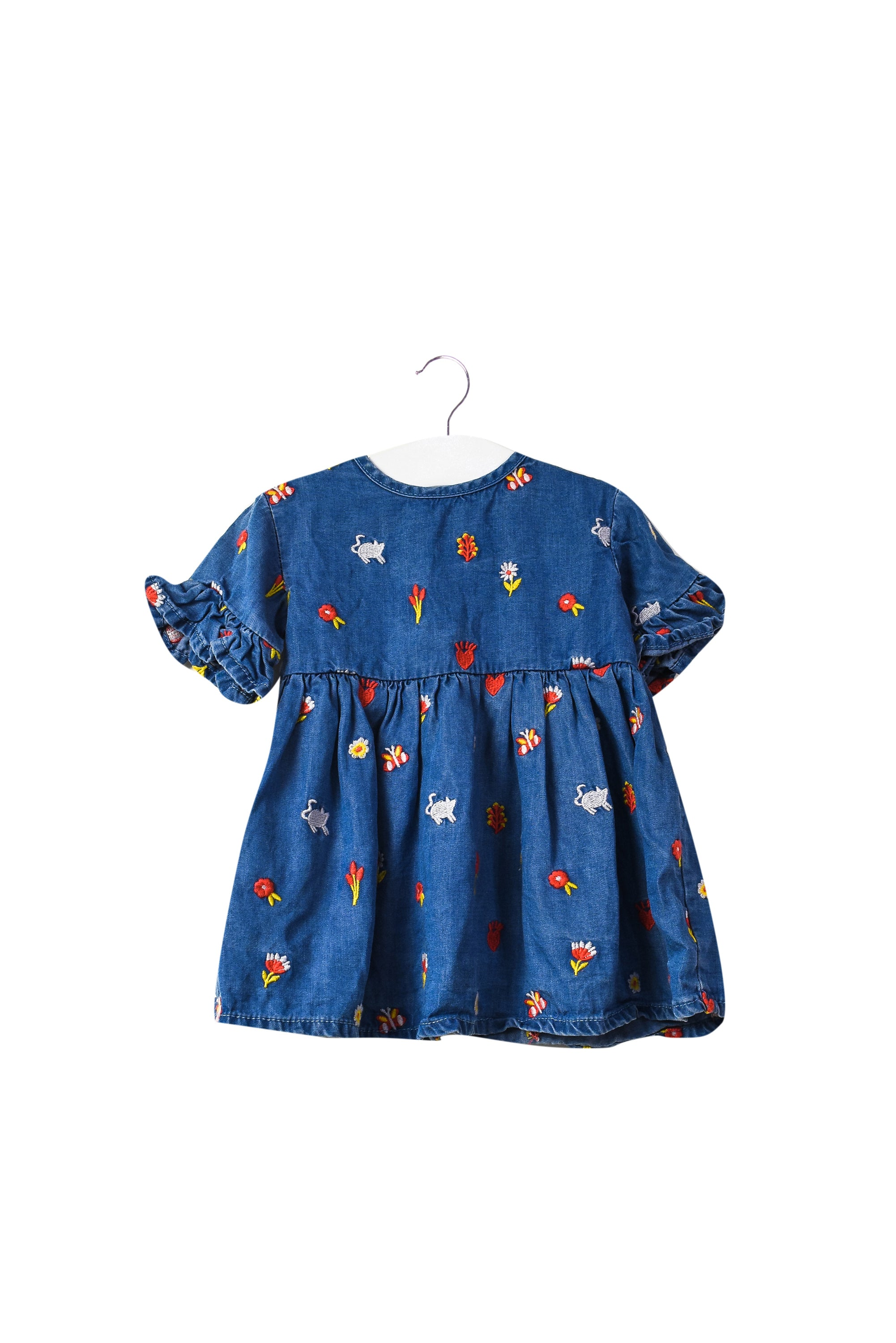 10044357 Seed Baby~Short Sleeve Dress 0-3M at Retykle