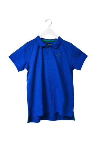 10044850 Shanghai Tang Kids~Short Sleeve Polo 6T at Retykle