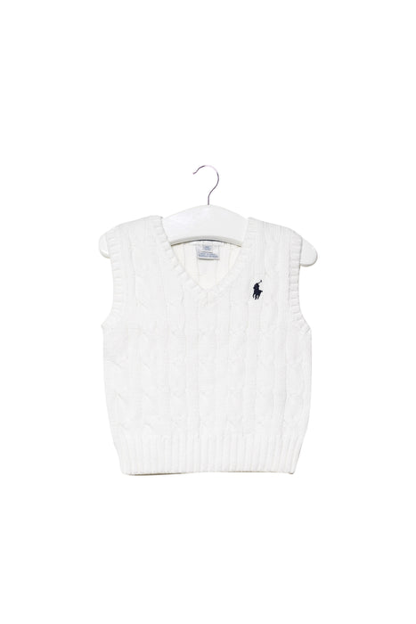 10046098 Ralph Lauren Baby~Knit Sweater Vest 6M at Retykle