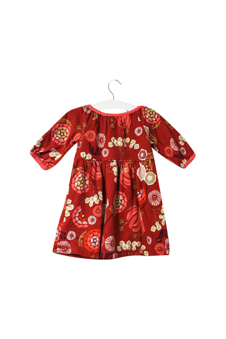 10046444 Tea Baby~Long Sleeve Dress 6-12M at Retykle
