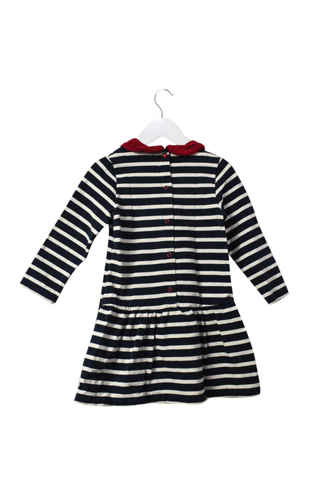 10046428 Petit Bateau Kids~Long Sleeve Dress 3T at Retykle