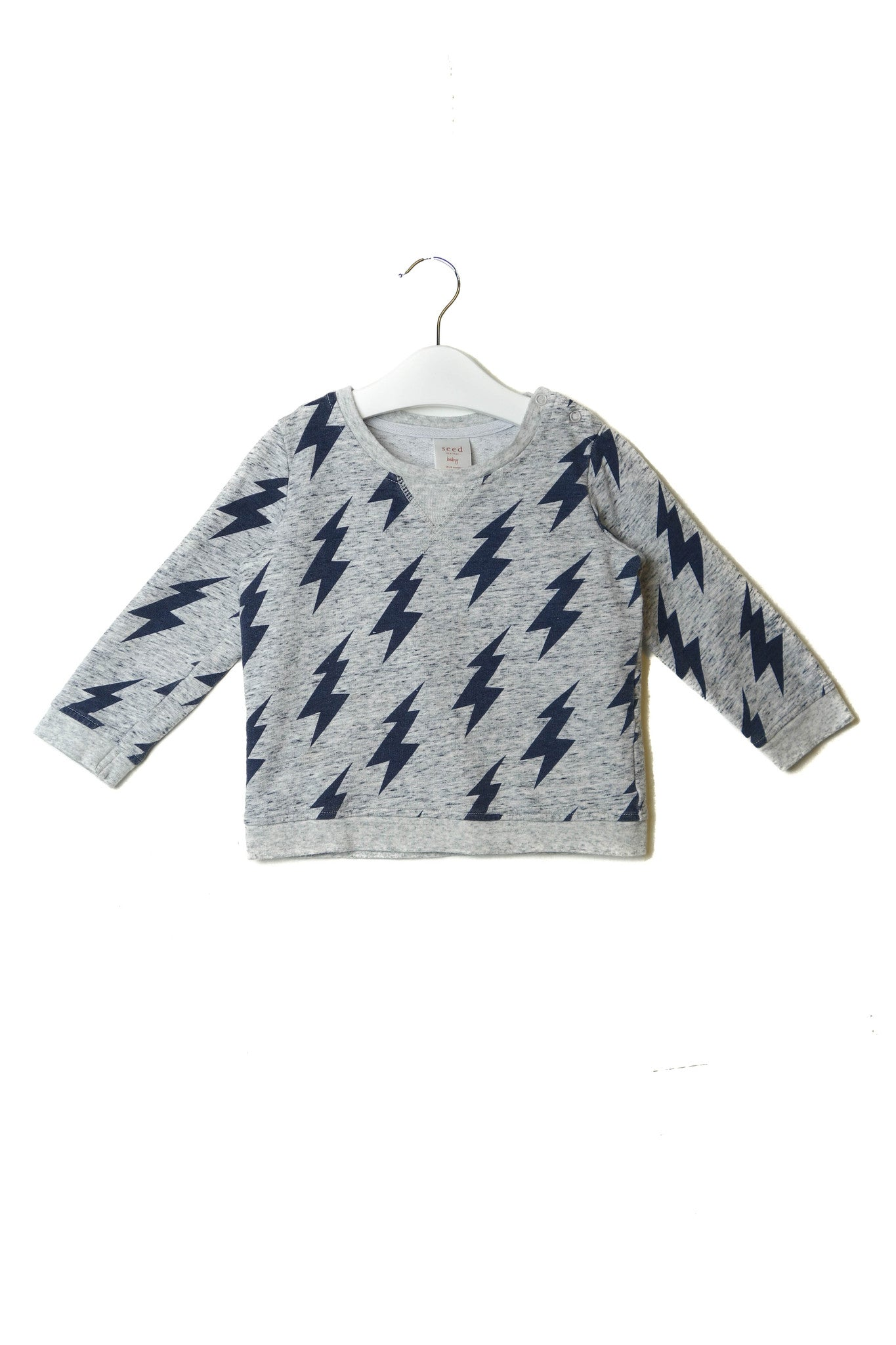 10002445 Seed Baby~Sweatshirt 18-24M at Retykle