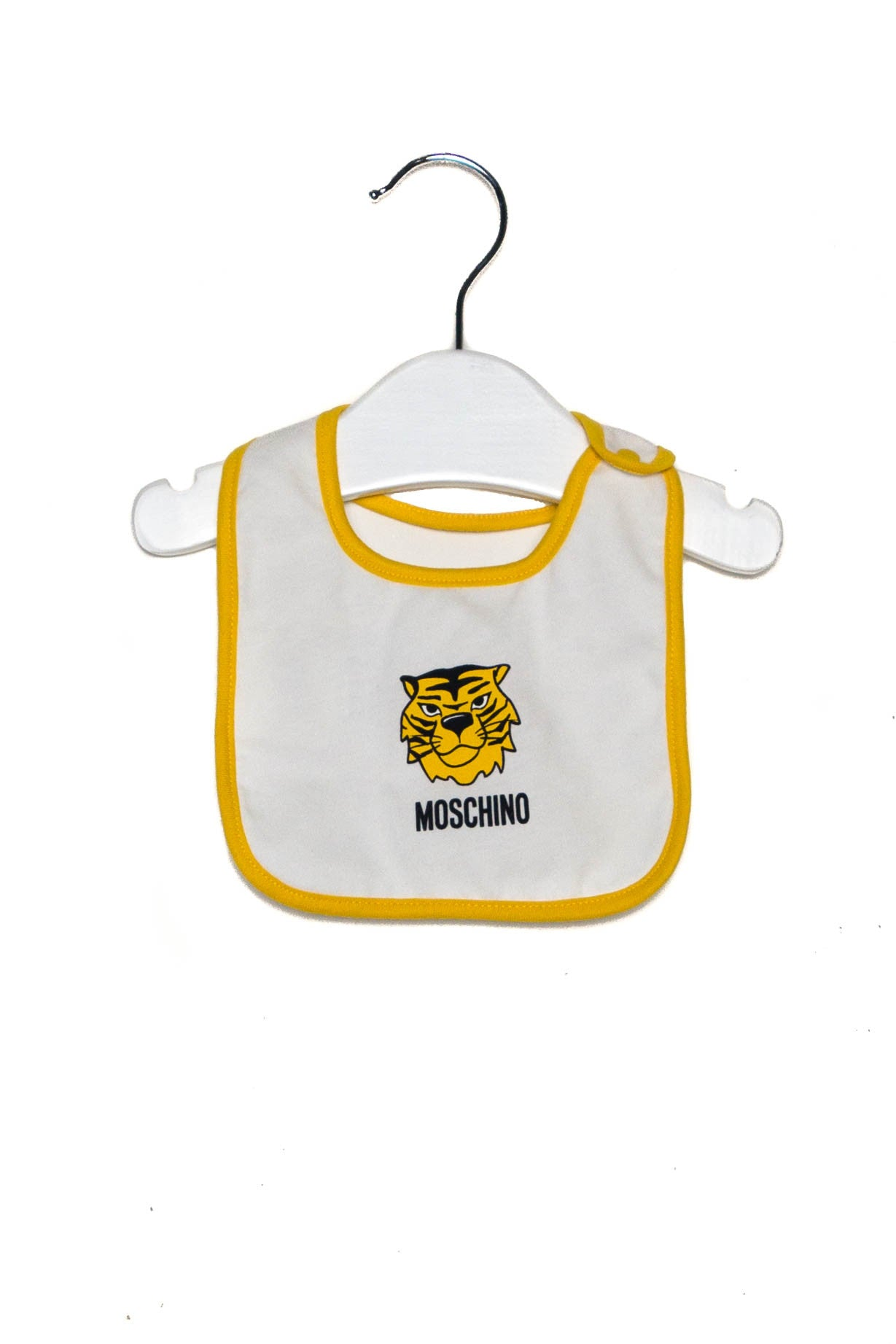 10002275 Moschino Baby~Romper and Bib 6-9M at Retykle