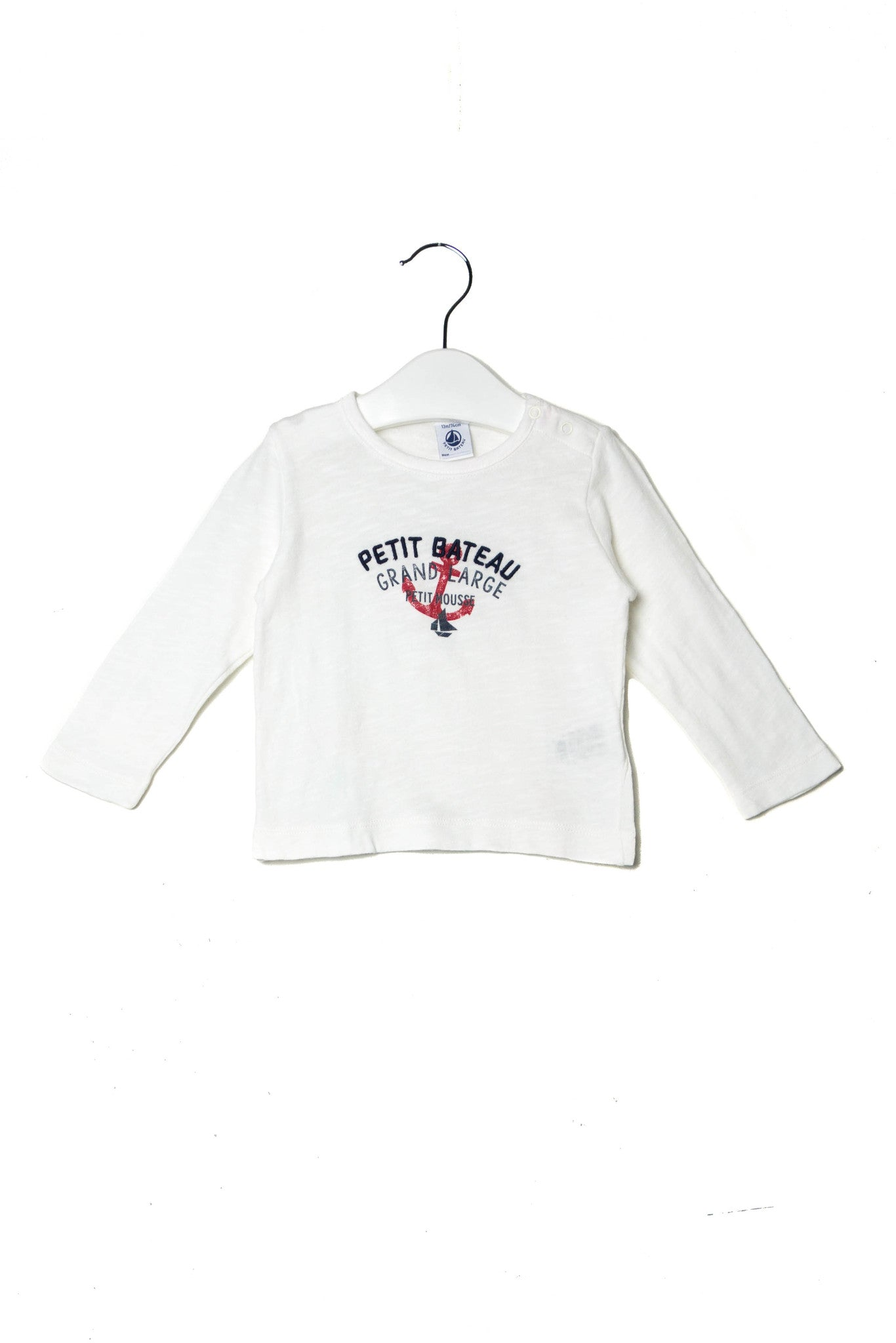 10002370 Petit Bateau Baby~Top 12M at Retykle