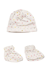 10006344 Seed Baby~Hat and Booties NB at Retykle