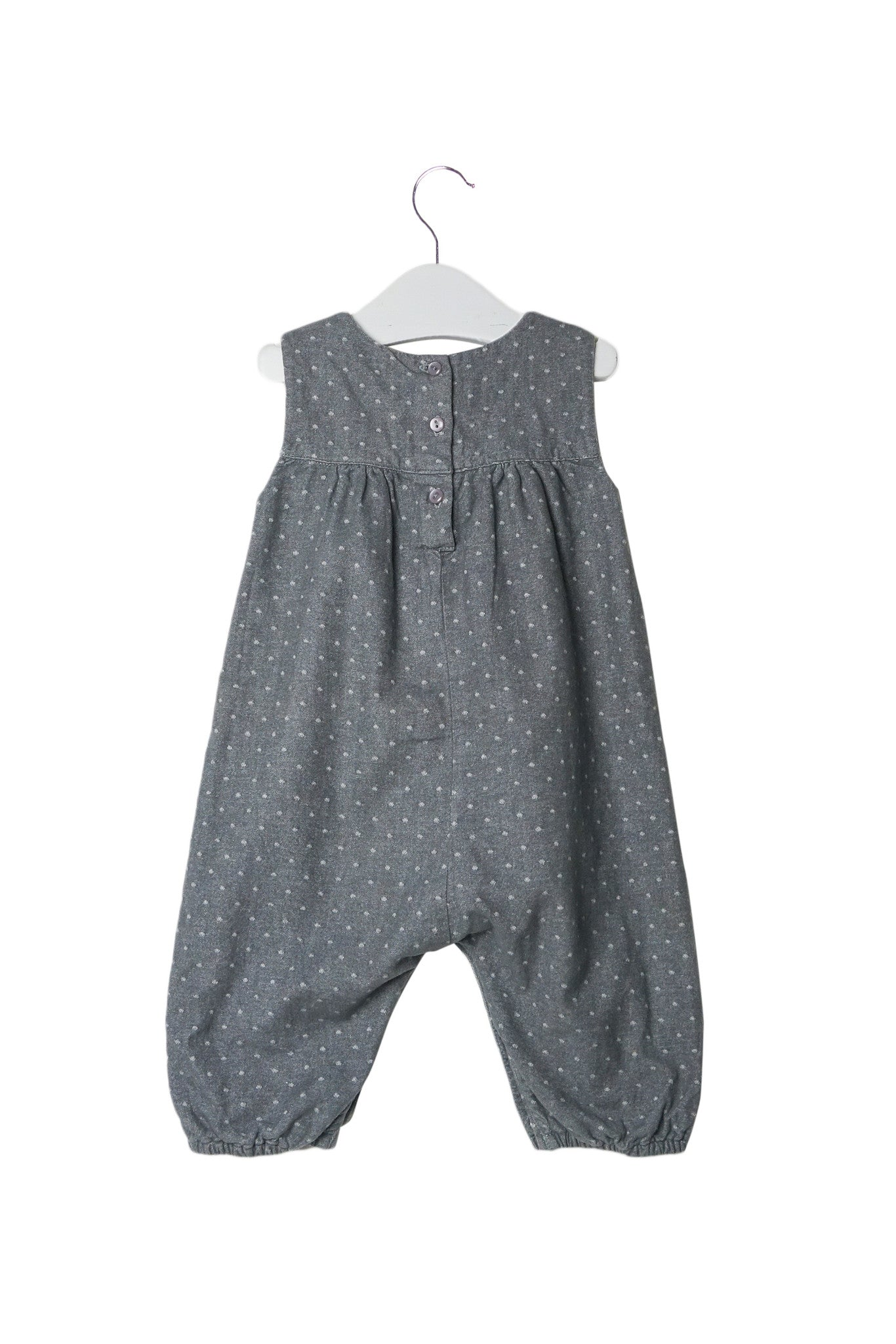 10002739 The Little White Company Baby~Jumpsuit 3-6M at Retykle