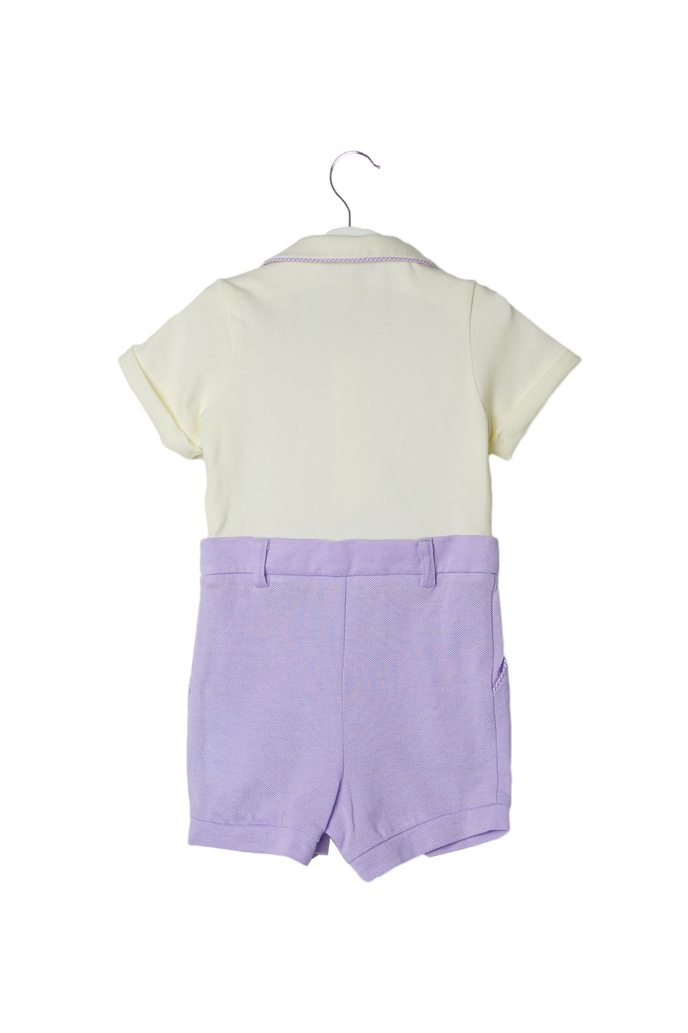 10002745 Nicholas & Bears Baby~Romper 3M at Retykle
