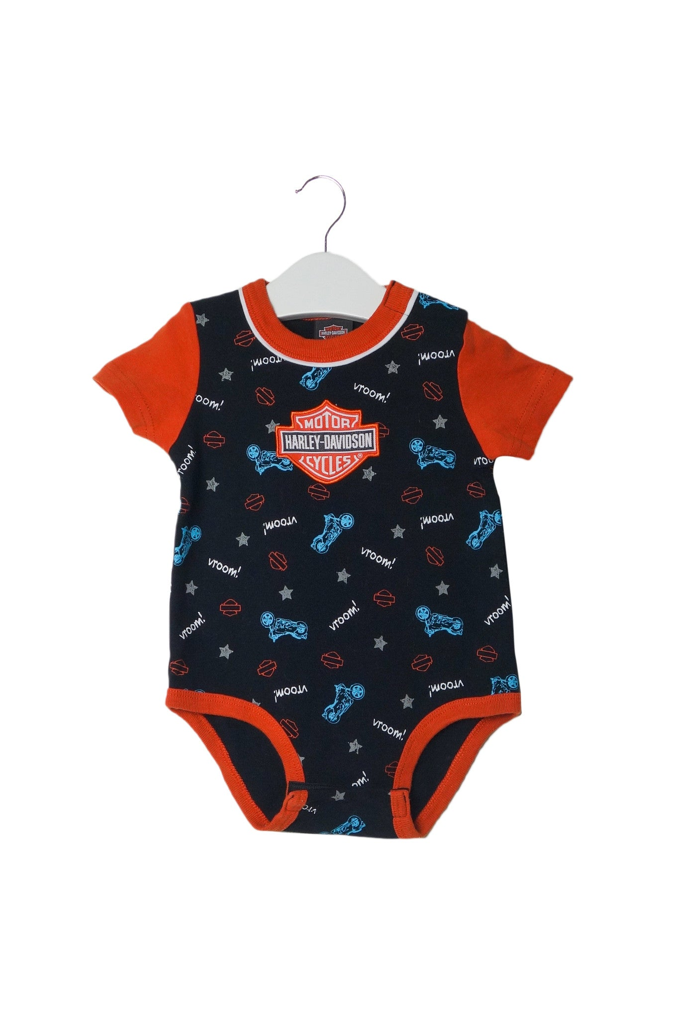 10002748 Harley Davidson Baby~Bodysuit 6-9M at Retykle