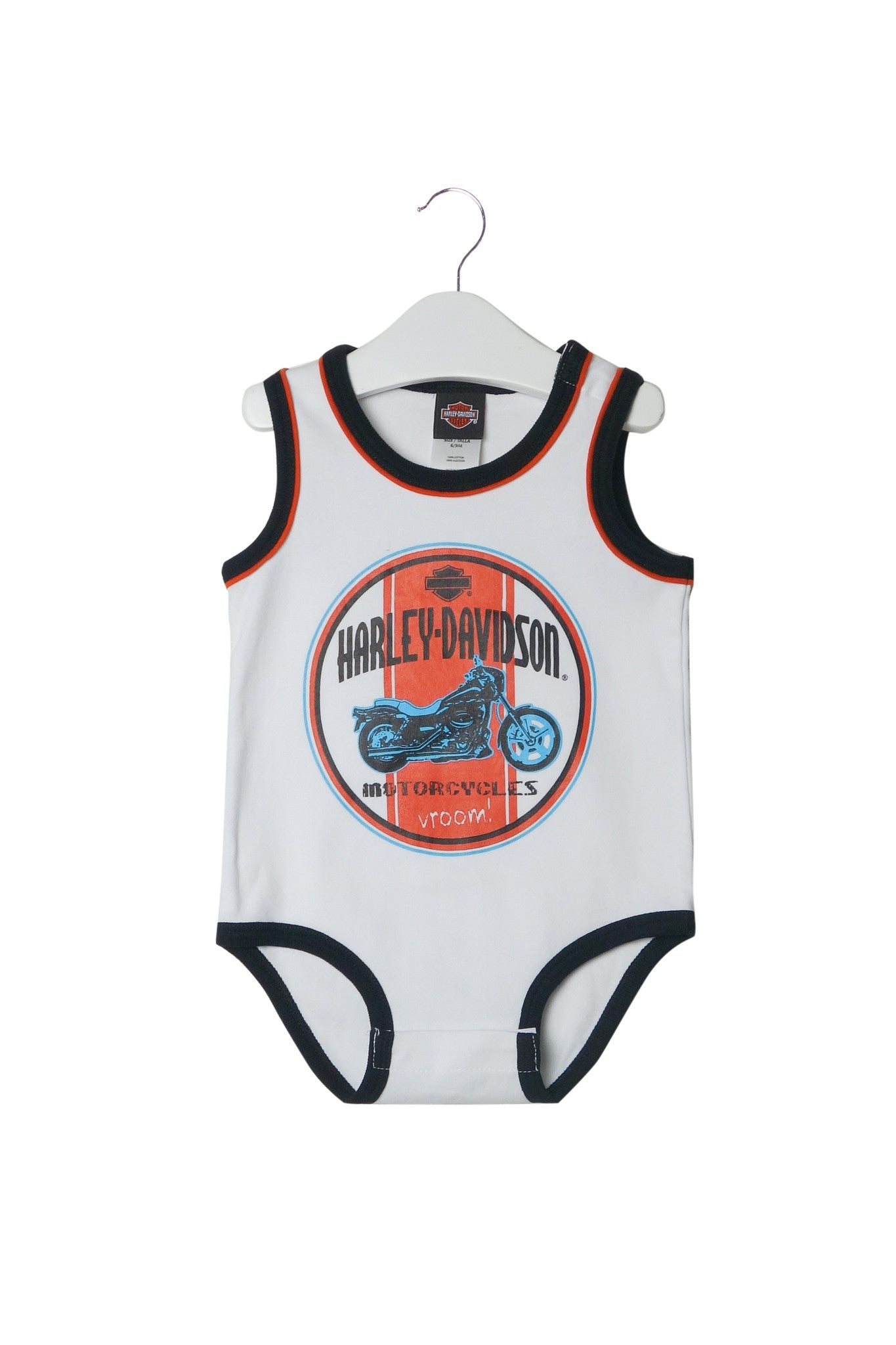 10002750 Harley Davidson Baby~Bodysuit 6-9M at Retykle